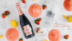 Frozen Berry Summer Cocktails