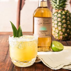 Pineapple Cilantro Margarita Summer Cocktails