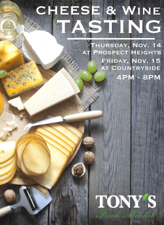 Cheese and Wine Tasting Poster